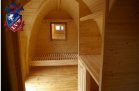 Log Cabin Camping Pod Extension 8