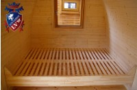 Log Cabin Camping Pod Extension 18