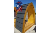 Log Cabin Camping Pod Extension 12