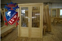 Log Cabin Doors 12