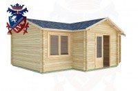 Log Cabins Barnham 7.0m x 5.0m -2120 3
