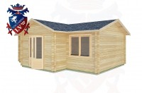 Log Cabins Barnham 7.0m x 5.0m -2120 2