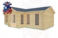 Log Cabins Crawley 8.5m x 4.5m -2127 3