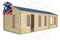 Log Cabins Dell Quay 8.5m x 3.5m -2125 3