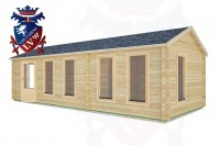 Log Cabins Dell Quay 8.5m x 3.5m -2125 2