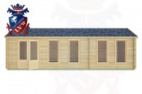 Log Cabins Dell Quay 8.5m x 3.5m -2125 1