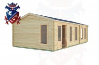 Log Cabins Amberley 8.5m x 4.5m -2126 2