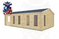 Log Cabins Amberley 8.5m x 4.5m -2126 3