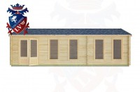 Log Cabins Amberley 8.5m x 4.5m -2126 1