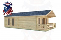 Log Cabins Elsted 5.0m x 8.0m -2098 3
