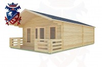 Log Cabins Elsted 5.0m x 8.0m -2098 2