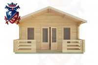 Log Cabins Elsted 5.0m x 8.0m -2098 1