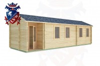 Log Cabins Hammerwood 9.0m x 3.0m -2128 3