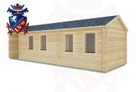 Log Cabins Hammerwood 9.0m x 3.0m -2128 2