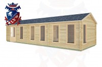 Log Cabins Petworth 10.5m x 3.5m -2132 3