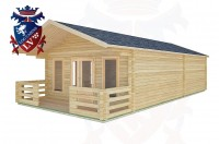 Log Cabins Coombes 5.0m x 9.0m -2100 3