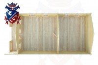 Log Cabins Coombes 5.0m x 9.0m -2100 4