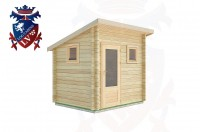 Log Cabins Woodmancote 2.5m x 2.0m -2006  2