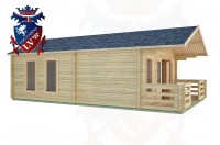 Log Cabins Bolney 5.0m x 7.0m -2097 3