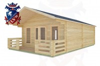 Log Cabins Bolney 5.0m x 7.0m -2097 2