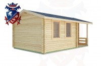 Log Cabins Langley 5.5m x 3.5m -2114 2