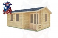 Log Cabins Langley 5.5m x 3.5m -2114 3