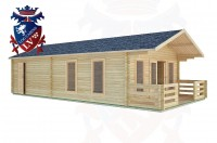 Log Cabins Heyshott 5.0m x 9.0m -2101 2