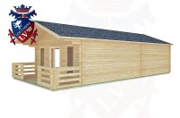 Log Cabins Heyshott 5.0m x 9.0m -2101 3