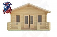 Log Cabins Heyshott 5.0m x 9.0m -2101 1