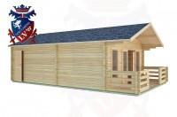 Log Cabins Graffham 5.0m x 7.0m -2096 2