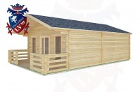 Log Cabins Graffham 5.0m x 7.0m -2096 3