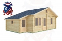 Log Cabins Ifold 7.7m x 4.5m -2123 3