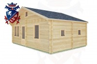 Log Cabins Ifold 7.7m x 4.5m -2123 2