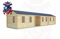 Log Cabins Poynings 13.0m x 3.0m -2135 2
