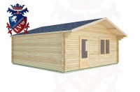 Log Cabins Rustington 6.0m x 6.0m -2116 2