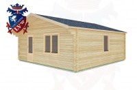 Log Cabins Rustington 6.0m x 6.0m -2116 3