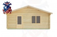Log Cabins Rustington 6.0m x 6.0m -2116 1