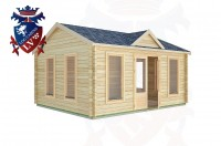 Log Cabins Small Dole 5.0m x 4.0m -2140 3