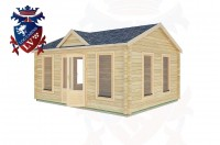Log Cabins Small Dole 5.0m x 4.0m -2140 2