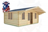 Log Cabins Fishersgate 5.0m x 4.0m -2109 3