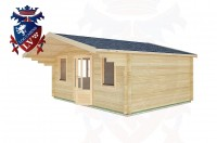 Log Cabins Fishersgate 5.0m x 4.0m -2109 2
