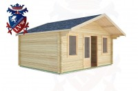 Log Cabins Clapham 5.0m x 4.0m -2110 3