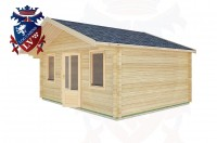 Log Cabins Clapham 5.0m x 4.0m -2110 2