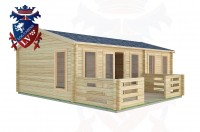Log Cabins Earnley 7.5m x 4.5m -2121 3
