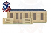 Log Cabins Earnley 7.5m x 4.5m -2121 1