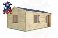 Log Cabins Cocking 6.0m x 4.0m -2119 2