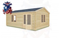 Log Cabins Cocking 6.0m x 4.0m -2119 3