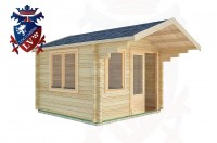 Log Cabins Worth 3.0m x 4.0m -2023 2