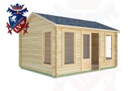 Log Cabins Houghton 4.5m x 3.5m -2075 3
