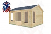 Log Cabins Houghton 4.5m x 3.5m -2075 2